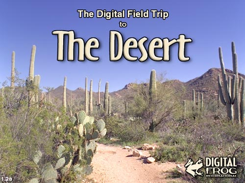 The Digital Field Trip to The Desert