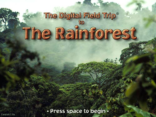 The Digital Field Trip to The Rainforest